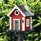 Handcrafted Country Farm Birdhouse