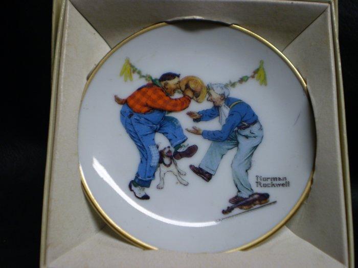 Norman Rockwell Mini Plate