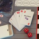 40 card deck of DiceTrax cards & gaming dice