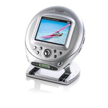 "Coby TF-DVD500 TFDVD500 Portable DVD Player 3.5"" LCD"