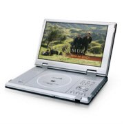 "Initial IDM-1210 Portable DVD Player with 10.2"" Screen"