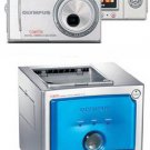 Olympus D-630 Zoom Digital Camera+ P-10 DIGITAL PHOTO PRINTER Combo