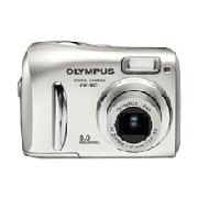 Olympus FE-110 - 5.0 Megapixel Digital Camera with 2.8 x Optical 4x Digital Zoom