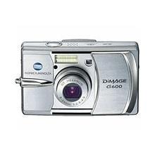 Konica Minolta DiMAGE G600 6.0 megapixel digital camera