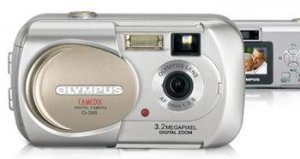 Olympus D-395 3.2 Mega Pixels Digital Camera