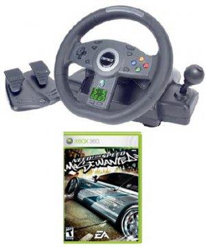 JOYTECH Nitro Racing Wheel for Xbox 360 + Need For Speed Xbox 360