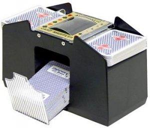 4 Deck Capacity Automatic Card Shuffler