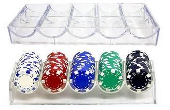 100pc Casino Chip Rack