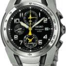 Seiko watch SNA473 Stainless Steel Alarm Chronograph Men's Watches