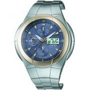 Casio Waveceptor Atomic Solar Watch WVA510SGA-9AV Blue Dial Mens Analog Digital