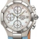 Ladies' Seiko Watch, Coutura Alarm Chronograph, Leather Strap