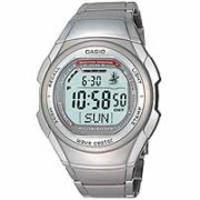 Casio Silver Waveceptor Watch