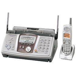 Panasonic Fax Copier with Expandable 5.8 GHz Cordless Phone System Answering System