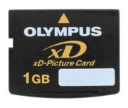 OLYMPUS 1GB XD CARD