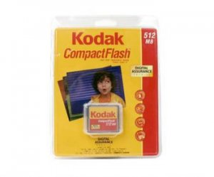 Kodak 512MB Compact Flash Card