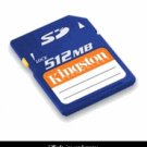 Kingston Sd 512mb Secure Digital Memory Card
