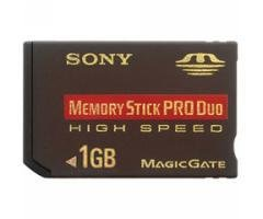 Sony MSX-1GS Memory Stick PRO Duo Card
