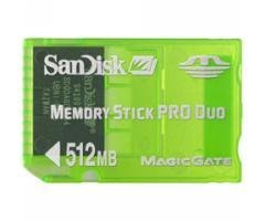 Sandisk 512MB Gaming Memory Stick PRO Duo