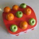 Fruit Platter - Red Top, White Base