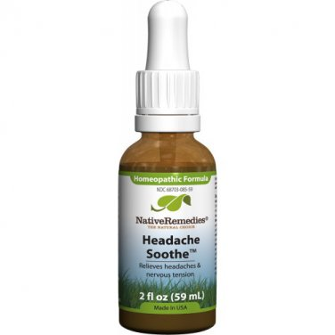 Headache Soothe - Headache remedy for relief of head pressure and neck pain due to stress