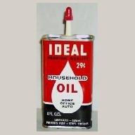 Ideal Household Oil, Handy Oiler, 4 oz. NOS