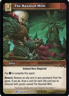WoW World of Warcraft TCG -- The Haunted Mills