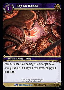 WoW World of Warcraft TCG -- Lay on Hands