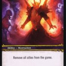 WoW World of Warcraft TCG -- Invoke the Nether