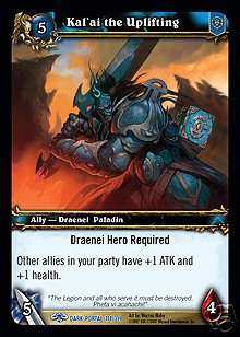 WoW World of Warcraft TCG -- Kal'ai the Uplifting