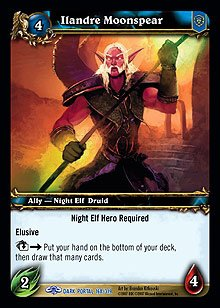 WoW World of Warcraft TCG -- Ilandre Moonspear