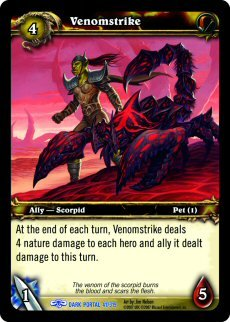 WoW World of Warcraft TCG -- Venomstrike