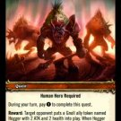 "WoW World of Warcraft TCG -- Wanted:""Hogger"""
