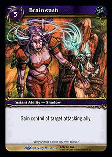 WoW World of Warcraft TCG -- Brainwash