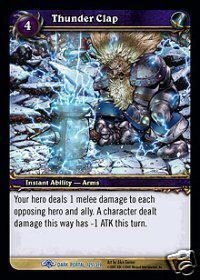 WoW World of Warcraft TCG -- Thunder Clap
