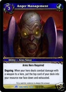 WoW World of Warcraft TCG -- Anger Management