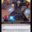 WoW World of Warcraft TCG -- Lightning Shield