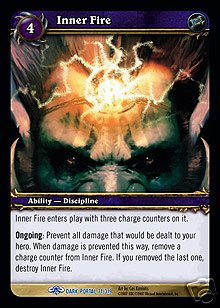 WoW World of Warcraft TCG -- Inner Fire