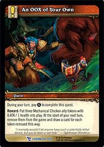 WoW World of Warcraft TCG -- An OOX of Your Own