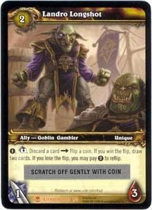 WoW World of Warcraft TCG ---- Landro Longshot --  LOOT