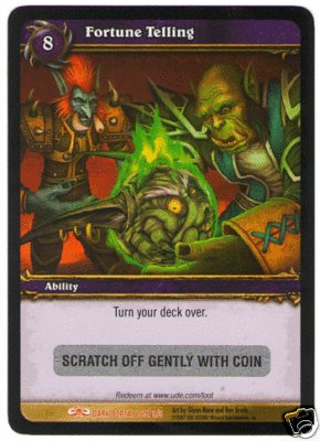 WoW World of Warcraft TCG ---- Fortune Telling --  LOOT