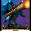 WoW World of Warcraft TCG ---- Marksman Glous - Extended Art