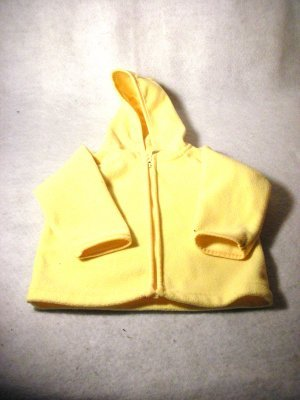 Yellow Zippered Jacket