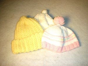 Set of 3 Winter Hats