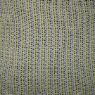 New Handmade Slanted Shell Baby Afghan, Yellow & White - 46 x 50 in. 100% Acrylic, Machine wash
