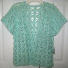 Hand Crocheted Ladies Vest (item # VL0002) Ladies Medium - 100% Acrylic