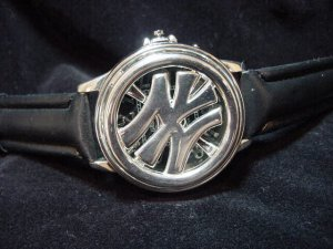 New York Iced Out Spinner Watch