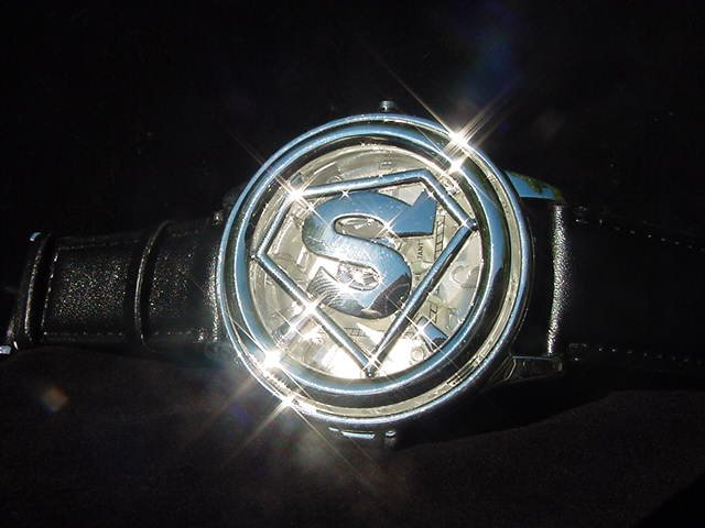 Superman Spinner Watch