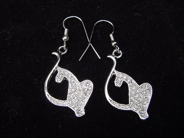 Baby Phat Logo Earrings