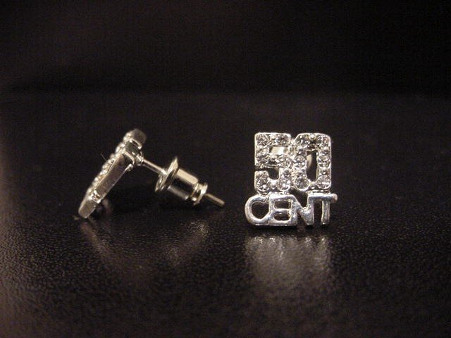 50 Cent Earrings