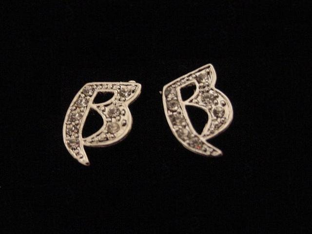 Quadruple Silver Plate Ruff Ryders Earrings